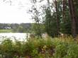 Asulakoht, üle jõe paistab Sindi-Lodja. Foto: Tarvi Sits, 22.09.2004.