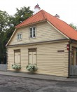 Elamu J.Poska t. 19, (hoone A). Vaade Wiedemanni tänavalt 23.08.2016. Foto: Timo Aava