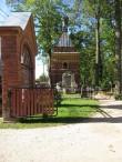 Kalmistu 24 Idamaine kabel ja Uspenski kalmistu värav. Foto Egle Tamm, 15.09.2016.