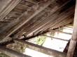 Elistvere mõisa ait. Laepealne kaaristu taguse endise ristvõlvlae kohalt. Restaureeritud osa.  Foto: Sille Raidvere  Aeg: 19.10.2016