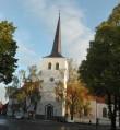 Paide kiriku vaade lõunast. Foto: K. Klandorf 30.09.2016.