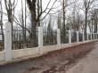 Vana juudi kalmistu Jänese tänava poolne uus varbpiire. Foto Egle Tamm, 24.11.2016.