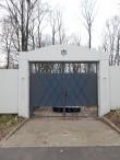 Vana juudi kalmistu värav. Foto Egle Tamm, 24.11.2016.