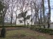 Muhu kirik pastoraadi aiast. Foto: Rita Peirumaa 23.12.2016