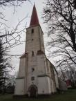 Kihelkonne kirik, vaade läänest. Foto: K. Saks, 30.11.2016