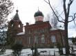 Kirik uuendatud torniga, Vaade kalmistult. 28.12.2016 Viktor Lõhmus