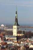 Tallinna Oleviste kirik, 13.-19.saj.. 25.01.2017. Foto: Timo Aava