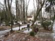 Pauluse kalmistu vaade kabeliga. Foto Egle Tamm, 25.01.2017.