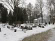 Meeksi kalmistu. Foto Kersti Siim, 31.01.2017.