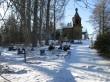 Vaade kalmistule idast. Foto Kersti Siim, 7.02.2017.