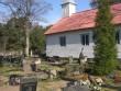 Käsmu kalmistu, reg. nr 5812. Vaade kagust lõunapoolsele osale. Foto: Anne Kaldam, kuupäev 28.04.2009