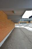 Hoone funktsionaalne liigendus lääneseinas. Foto: 11.02.2017