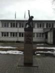 1905. a. revolutsiooni monument Koerus, vaade loodest. Foto: K. Klandorf 11.03.2017.