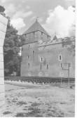 Vaade Kuressaare Linnusele läänest. Foto: Kuressaare Linnavalitsuse arhiiv.