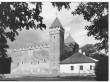 Vaade Kuressaare Linnusele idast. Foto: Kuressaare Linnavalitsuse arhiiv.