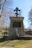 Kuremäe kloostri kalmistu, 19-20.saj. Mälestussammas 1919-1920. a. epideemias hukkunutele. Foto: Kalle Merilai 02.05.2017.a.