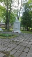 II maailmasõjas hukkunute ühishaud Paides Reopalu kalmistul. Foto: K. Klandorf 09.06.2017.