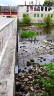 Jõgeva mõisa vesiveski Vaade vesiveskilt jõele.  Foto: Sille Raidvere  Aeg: 31.05.2017