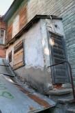 Hoovikülje endine sissepääs edelaseinas. Foto: Eva-Maria Aitsam 26.08.2011