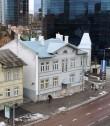 Elamu Tallinnas Liivalaia t. 43. Vaade Kaasani kiriku tornist. Talv 2017.