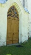 Maarja- Magdaleena kiriku põhjapoolne uks (restaureeritud)  Foto: Sille Raidvere  Kuupäev: 15.06.2017