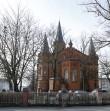Narva mnt 104 Peetri kiriku altariosa vaadatuna Peetri tänavalt. Foto Egle Tamm, 05.03.2017.