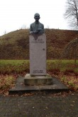 Fr.R.Kreutzwaldi monument, vaade põhjast. Foto: M.Abel, kp 09.11.17