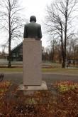 Fr.R.Kreutzwaldi monument, vaade lõunast. Foto: M.Abel, kp 09.11.17