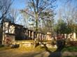 Elistvere mõisa park. Loomapargi osa. Vaade põhjapoolsele pargi äärele, kus asuvad valitsejamaja varemed.  Foto: Sille Raidvere Aeg: 19.10.2016