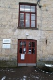 Viru-Jaagupi Noorsoo Kasvatuse Seltsi kooli hoone, hoone pea-sissepääs. Foto: M.Abel, kp 20.11.17