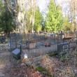 Urvaste kalmistu tormikahjustuse järel korda tehtud sepisaed. Foto Mirja Ots, 7.11.2017
