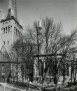 Oleviste kirik 1980. aastatel. Foto: Eesti Arhitektuurimuuseum.