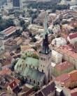 Oleviste kirik 2000.a. Foto: Eesti Arhitektuurimuuseum.