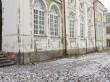 Magasini 1a kiriku restaureeritud akendega lõunakülg. Foto Egle Tamm, 17.01.2018.