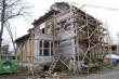 Villa Mon Repos restaureerimistööde käigus. Foto: Mats Õun, 2011.