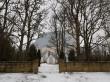 Kadrina kirikuaia piirdemüür, vaade peaväravale loodest. Foto: M.Abel, kp 09.01.2018