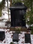 Hauamonument Kadrina kalmistul. Foto: M.Abel, kp 09.01.18
