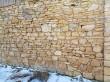 Muuga mõisa küün, vaade seina ilusale kivilaole. Foto: M.Abel, kp 16.01.18