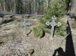 Sikenbergide hauaplats Järva-Madise kalmistul. Foto: K. Klandorf 04.04.2016.