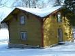 Porkuni mõisa linnumaja. Foto: Raili Uustalu 05.03.2018. Vaade hoonele loodest.