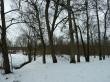 Uhtna mõisa park. Foto: Raili Uustalu 14.03.2018. Vaade mõisaaegse allee lõpust Kunda jõe suunas.