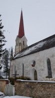 Viru-Jaagupi kirik, vaade kagust. Foto: M.Abel, kp. 13.03.18