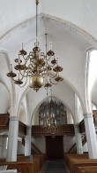 Viru-Jaagupi kirik, sisevaade. Foto: M.Abel, kp. 13.03.18