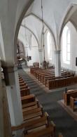 Viru-Jaagupi kirik, vaade pikihoones. Foto: M.Abel, kp. 13.03.18