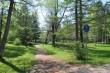 Narva-Jõesuu kuursaali park, 19. saj. Vaade heleda pargi tiigile kirdest.  Foto: Kalle Merilai 15.05.2018.a