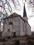 Lääne-Nigula kirik. Foto Dan Lukas 17.04.2018