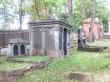 Roosi 46a vana juudi kalmistu Taube Kropmani kabel. Foto Egle Tamm, 14.09.2018.