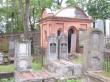 Roosi 46a vana juudi kalmistu Perl Kropmani kabel. Foto Egle Tamm, 14.09.2018.