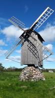 Vilivalla vastrestaureeritud tuulik. Foto: Karin Kirtsi, 27.09.2018