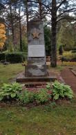II maailmasõjas hukkunute ühishaud, vaade läänest. Foto: M.Abel, kp 04.10.18